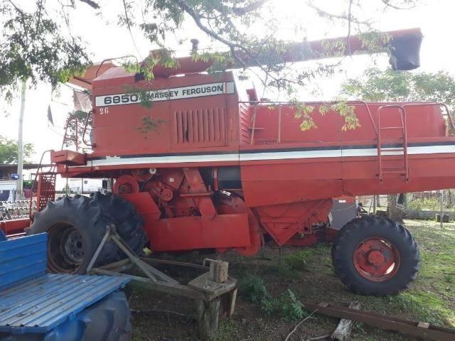 Massey Ferguson 6850 arrozeira tracionada - Foto 2