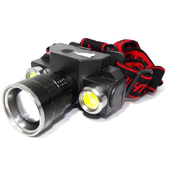 Lanterna de Cabeça Farol Ecooda EC-6095 c/ Zoom