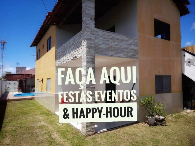 CASA para festas eventos & Happy-hour