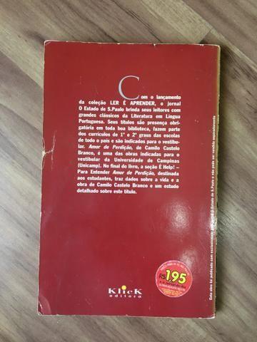 Livro amor e perdição literatura - Foto 2