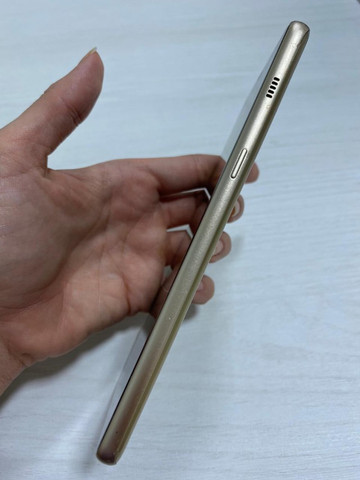 Celular Samsung A8+ 128gb Dourado Usado - Foto 5
