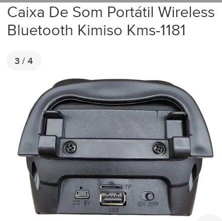 Caixinha de som Bluetooth - Foto 3