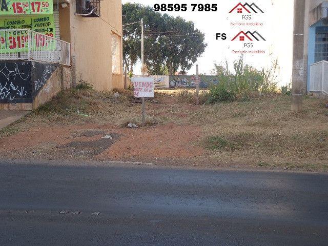 QS 304 Ótimo Lote Comercial Vazado na Avenida 100 M² E s c r i t u r a d o - Foto 4