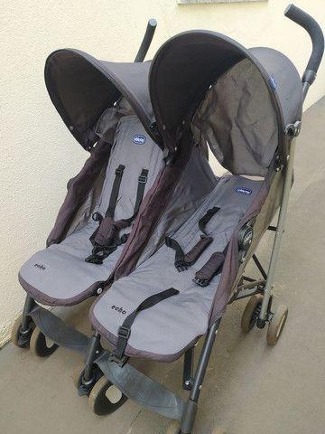 Carrinho bebê gêmeos - Foto 3