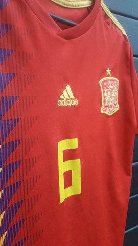 Camisa Espanha.  - Foto 3