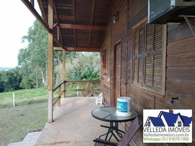 Velleda of. sítio 3,9 hectares, vista magnífica, casa, piscina - Foto 9