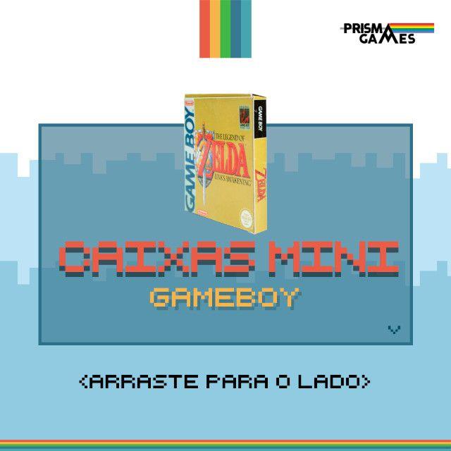 Caixa Mini Para Jogos - Gameboy / Gameboy Color