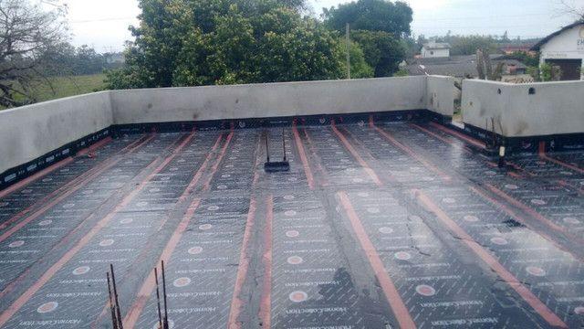 Impermeabilizações, telhados e terraços, aplicação manta asfaltica - Foto 6