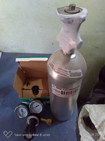 Kit CO2 2 kg chopp  - Foto 4
