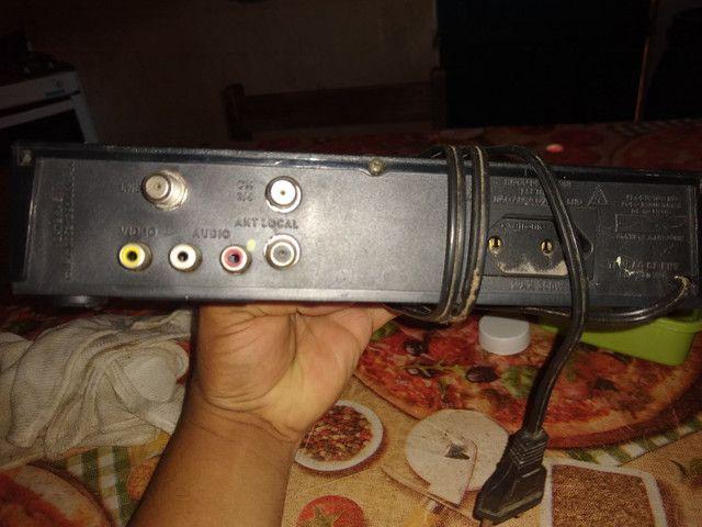 Um receptor novo so que eu nao estou usando - Foto 2