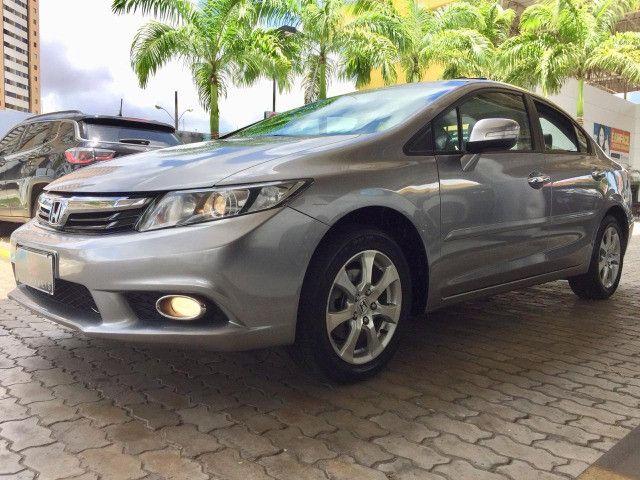Honda Civic EXS 2013 1.8 Automático - Com Teto Solar - Foto 2