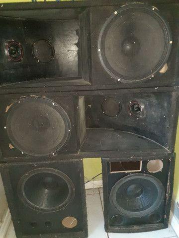 Amplicadores, Receivers e alto falante  - Foto 4