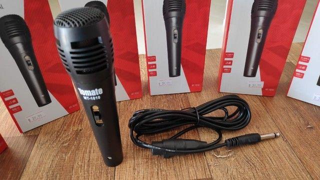 Microfone Profissional P10 (Acompanha Cabo) - Foto 6