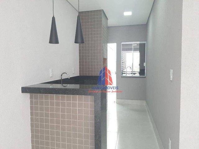 Casa com 3 dormitórios à venda, 119 m² por R$ 437.000,00 - Jardim Santa Rosa - Nova Odessa - Foto 4