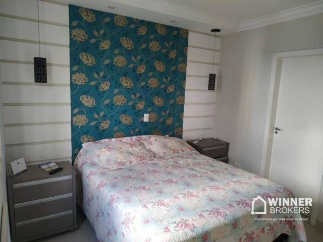 Lindo apartamento mobiliado à venda no centro de Cianorte! - Foto 3