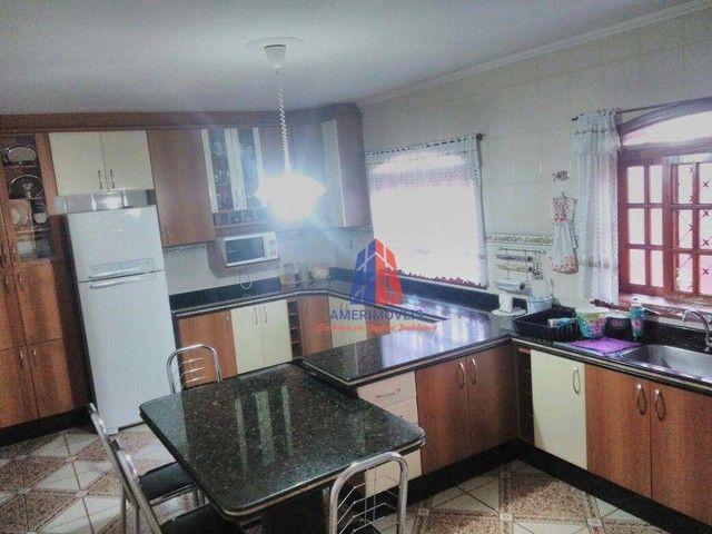 Casa com 3 dormitórios à venda, 211 m² por R$ 760.000,00 - Jardim Santa Rosa - Nova Odessa - Foto 4