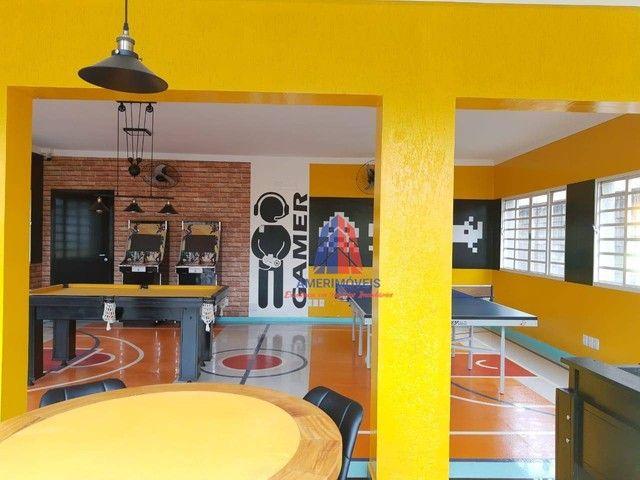 Casa com 3 dormitórios à venda, 270 m² por R$ 1.300.000 - Residencial Imigrantes - Residen - Foto 13