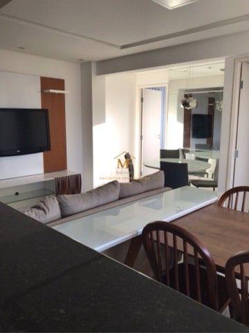 Apartamento mobiliado para locação próximo da avenida Maria Quitéria  - Foto 6