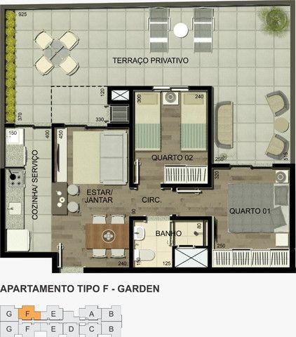 Residencial Alexandria 1 quarto - Foto 6