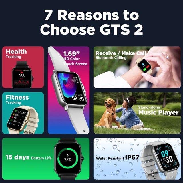 Smartwatch Zeblaze GTS 2 (music player)  - Foto 3