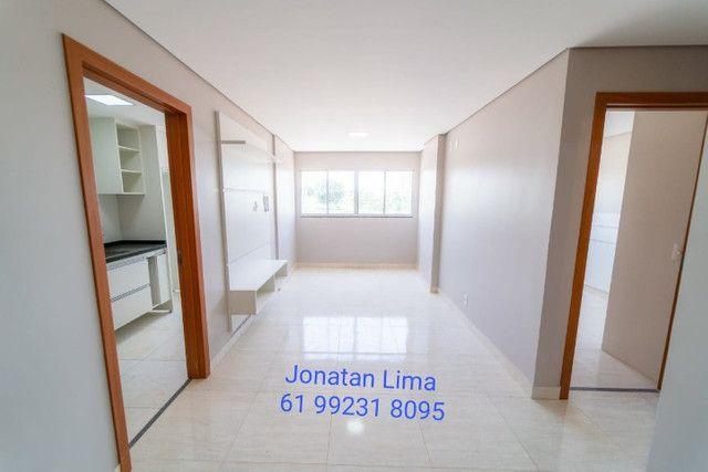 Apartamentos na Samambaia de 2 quartos com suíte-61m2 - Foto 2