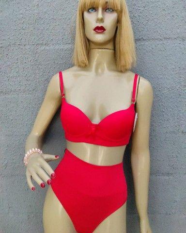 Conjunto lingerie 35 reais ou 03 por 100 reais   - Foto 4