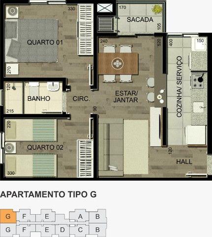 Residencial Alexandria 1 quarto - Foto 9