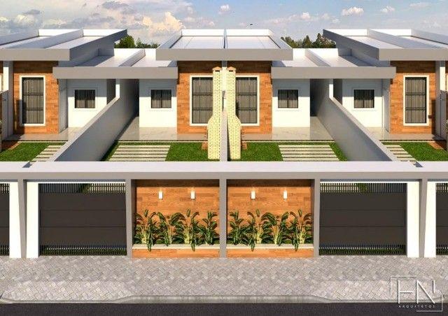 WG Moderna Casa, 2 dormitórios, 1 suíte, 2 banheiros, 3 vagas de garagens - Foto 2