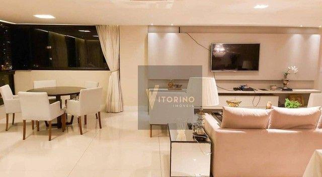 Apartamento com 3 dormitórios para alugar, 290 m² por R$ 7.000,00/mês - Manaíra - João Pes - Foto 6