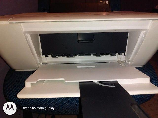 Impresora dskejet 1516 está somente com o cartucho preto mas imprime normalmente