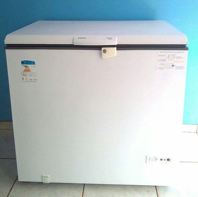freezer consul 305 litros com chave w110