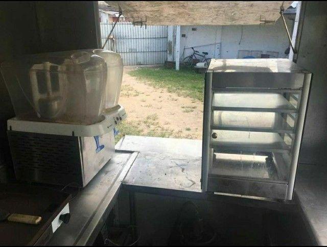 food truck novo nunca usado todo completo e todo em inox - Foto 4