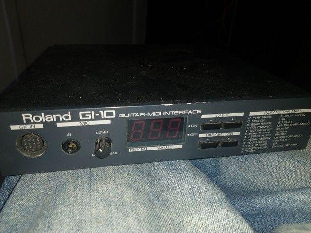 Interface midi para guitarra roland