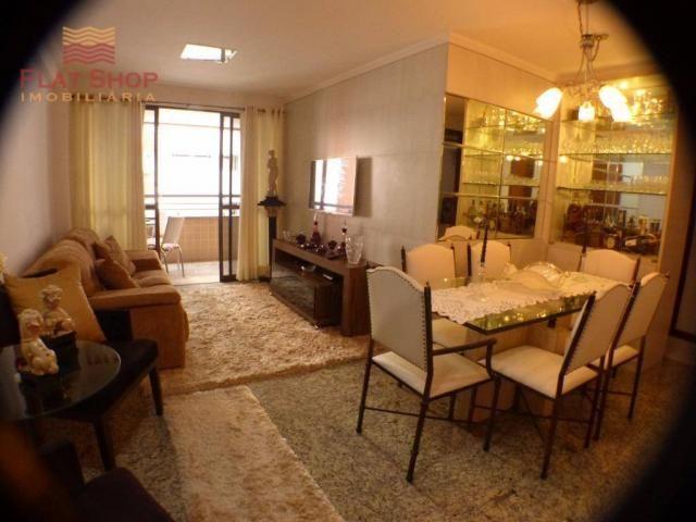 Apartamento residencial à venda, meireles, fortaleza. 3 dormitórios, condomínio com 2 vaga