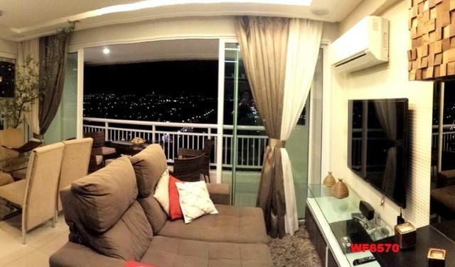 Allegro condomínio, 2 quartos, gabinete, projetado, alto luxo, andar alto, lazer completo - Foto 4