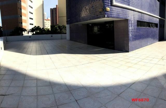 Palazzo Florentino, 3 suítes, gabinete, 3 vagas, projetado, quadra, próximo parque do Cocó - Foto 17