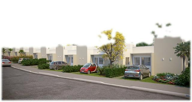 Casa de 2/4 na laje em Condomínio - Região Jardim Cruzeiro e Feira IX - Ent Facilitada - Foto 3