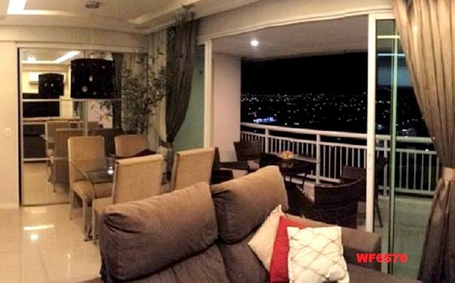 Allegro condomínio, 2 quartos, gabinete, projetado, alto luxo, andar alto, lazer completo - Foto 2