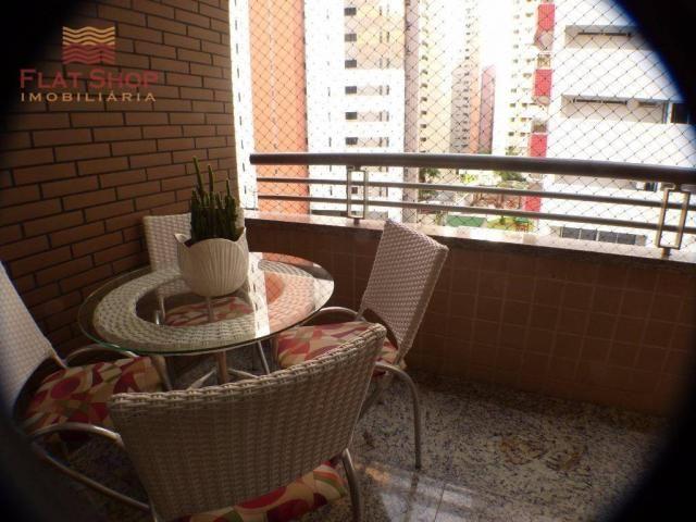 Apartamento residencial à venda, meireles, fortaleza. 3 dormitórios, condomínio com 2 vaga - Foto 9