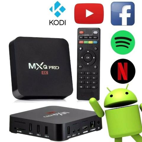 Tv Box Smart Mxq Pro Netflix Youtube Kodi Android 7.1 - Foto 5