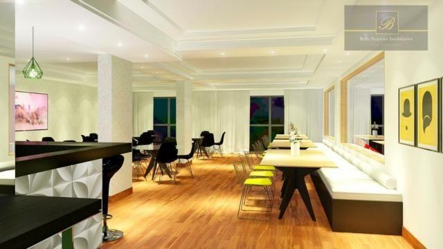 Apartamento com 1 dormitório à venda, 58 m² por R$ 289.425 - Santo Antônio - Joinville/SC - Foto 4