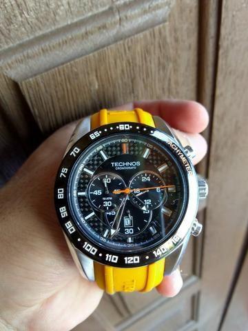 3961e4e9d55 Relògio Technos Cronógrafo Sports - Bijouterias