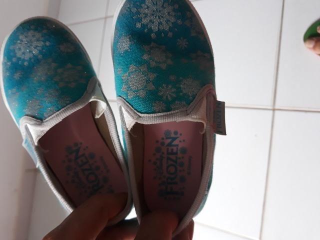 Sapato da frozen