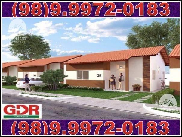 Condomínio Margareth Alencar 2! Casas 2 quartos à venda, Estrada de Ribamar