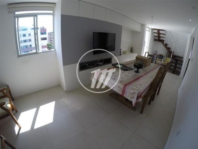 Charmoso apartamento duplex com 163 m², 3/4 (sendo 02 suítes), na Jatiúca. REF: C4139
