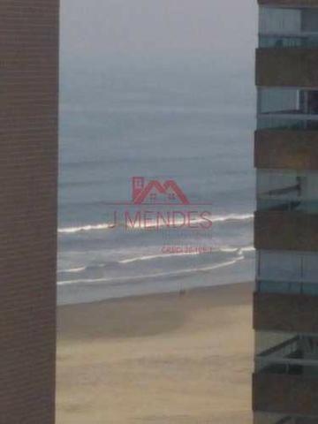 REF. 2972- Apartamento de dois dormitórios , sacada , vista mar lateral!!! - Foto 14