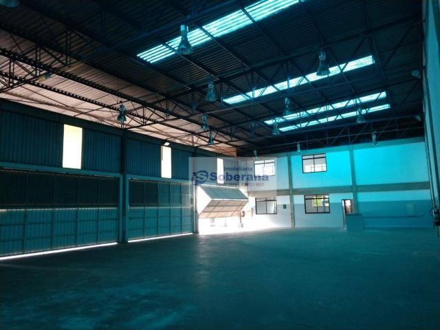 Barracão para alugar, 750 m² por R$ 15.000,00/mês - Terminal Intermodal de Cargas (TIC) -  - Foto 10