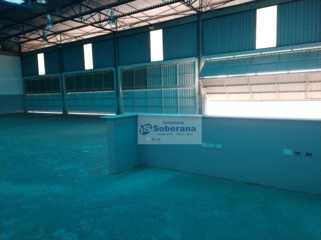 Barracão para alugar, 750 m² por R$ 15.000,00/mês - Terminal Intermodal de Cargas (TIC) -  - Foto 12