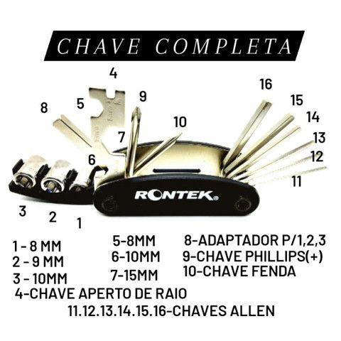 Chave Multi-uso 16 Funções Completa Rontek Reparos - Foto 3
