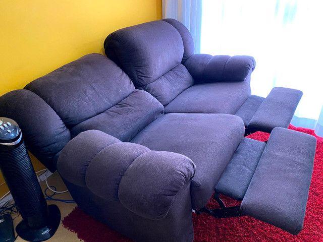 Sofá 2 lugares reclináveis  - Foto 4